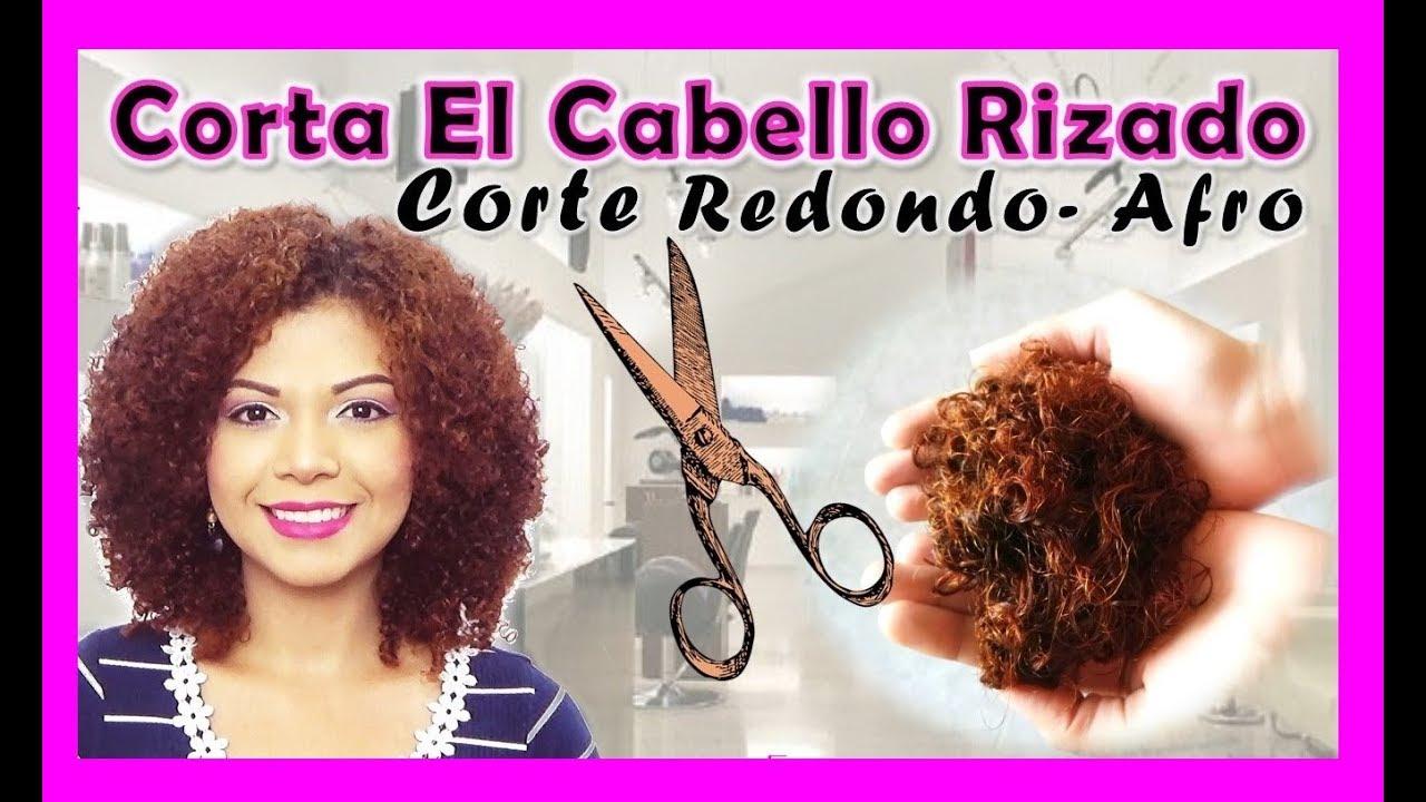 Como debo cortar mi cabello rizado
