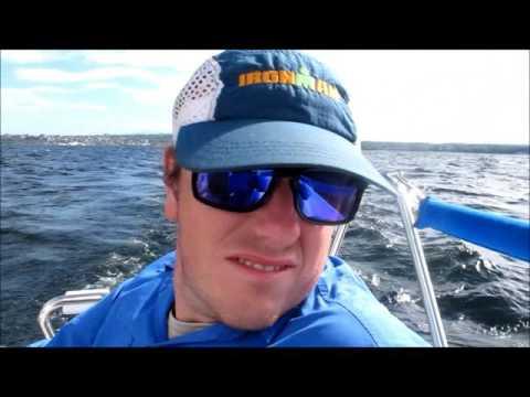 Sailing on Lake Champlain - Matt and Joyce