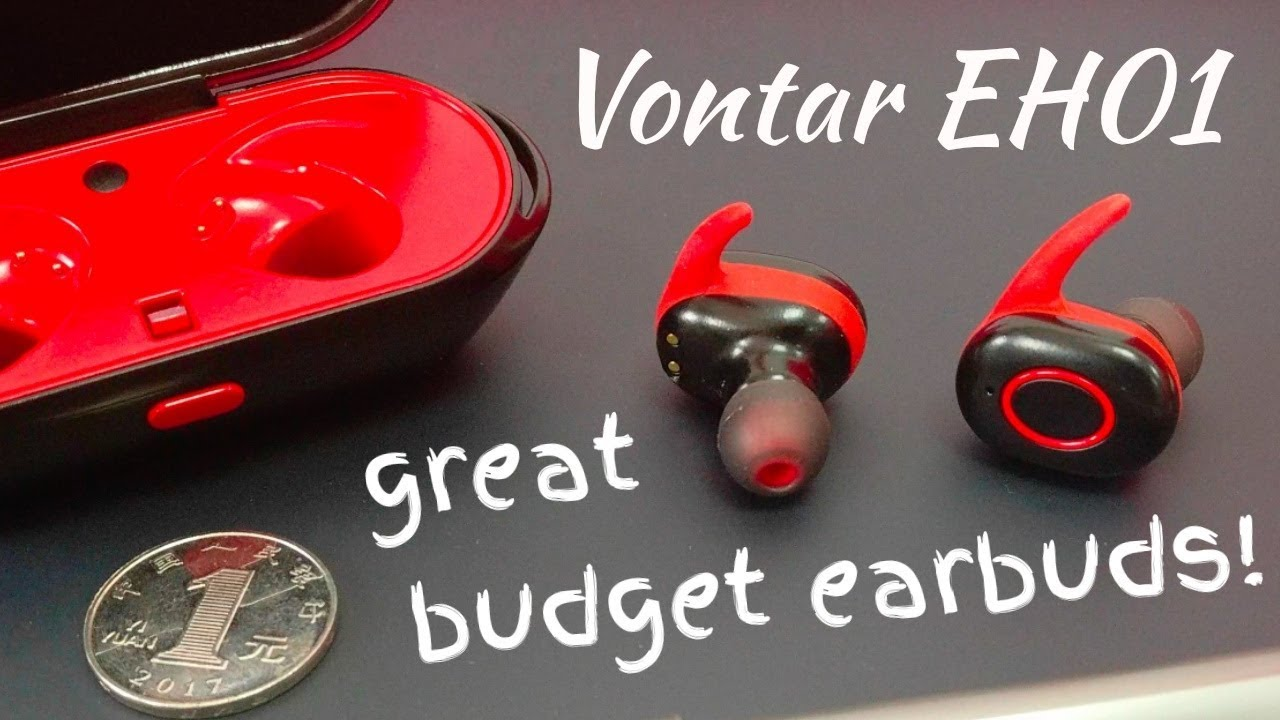 bafb2349abe Great Budget Earbuds! Vontar EH01 | True Wireless Earbud Review ...