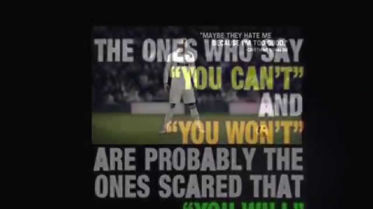 Motivational Football Quotes Inspirational Soccer Quotes  Youtube