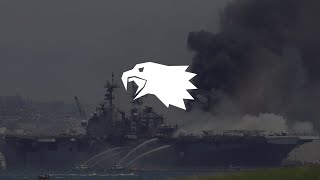 USS Bonhomme Richard Update | The Intelligence Ledger