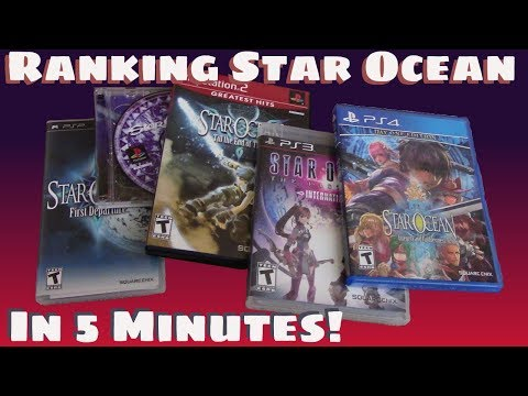Star Ocean: The Entire Series - Worst To Best - In Just Five Minutes!