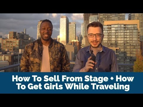 RSD Madison Interview - How To Sell From Stage + How To Get Girls While Traveling