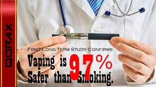 Vaping is 97% Safer // Confirms Long-Term Study!