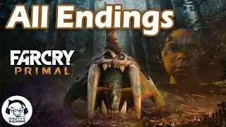 Far Cry Primal All Endings + After Credit Secret Ending Scene