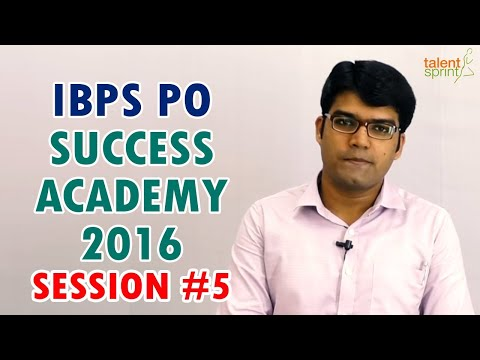 IBPS PO Success Academy 2016 ||1 Objective to Achieve || Banking Careers