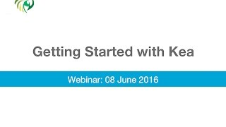 Getting Started with Kea