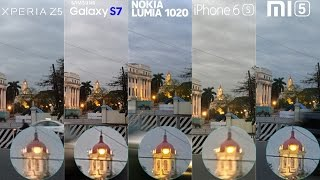 Galaxy S7 vs Xperia Z5, Lumia 1020, iPhone 6s, Mi5 Camera Comparison