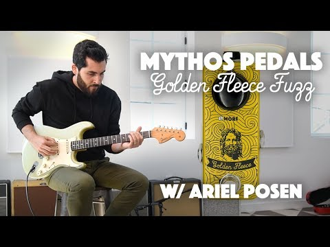 Mythos Pedals Golden Fleece Fuzz played by Ariel Posen