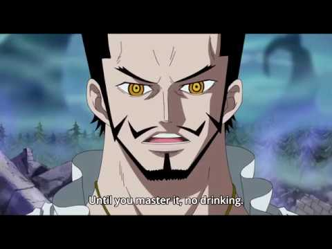 Zoro learn Haki