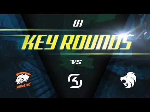 Key rounds: Train vs VP, Overpass vs SK, Cobblestone vs North @ IEM Katowice (ENG SUBS)