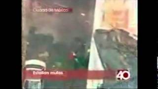 Se registraron 2 explosiones en mufas en Centro Histórico.