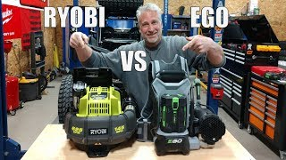 NEW RYOBI 40V Backpack Blower RY40440 Vs EGO 56V LB6002 Backpack Blower