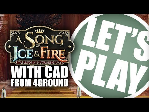 Lets Play: Game of Thrones A Song of Ice & Fire with 4Grounds Cad