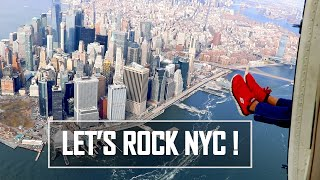 HELICOPTER RIDE IN NEW YORK CITY? FLYING ABOVE NYC AND NEW JERSEY WITH FLYNYON WINDOWS OFF