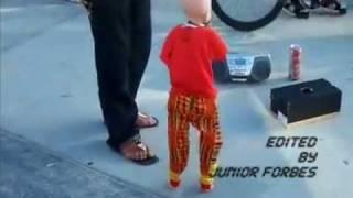Puppet dancing to hip hop beat