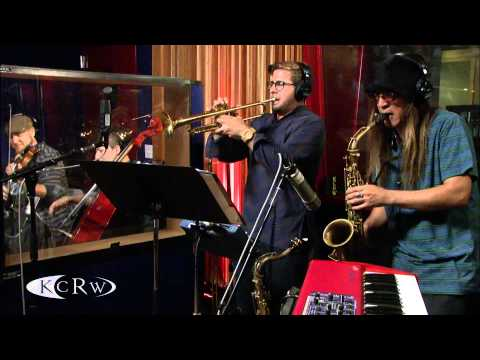 """The Decoders performing """"Black Gold Of The Sun (Rotary Connection Cover)"""" Live on KCRW"""