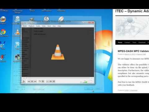 MPEG-DASH with VLC - YouTube