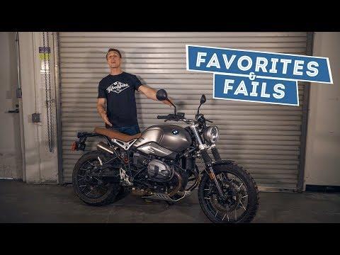 2017 BMW R nineT Scrambler - Favorites & Fails