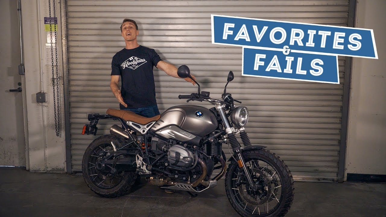 2017 Bmw R Ninet Scrambler Favorites Fails Youtube