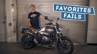 2017 BMW R nineT Scrambler - Favorites & Fails