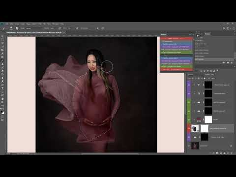 FABRIC LIBRARY VIDEO 4: FULL TUTORIAL (fast Paced) Using Expert Photoshop Action