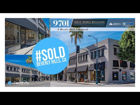 Retail Office Building For Sale in Beverly Hills | 9701 S. Santa Monica Boulevard