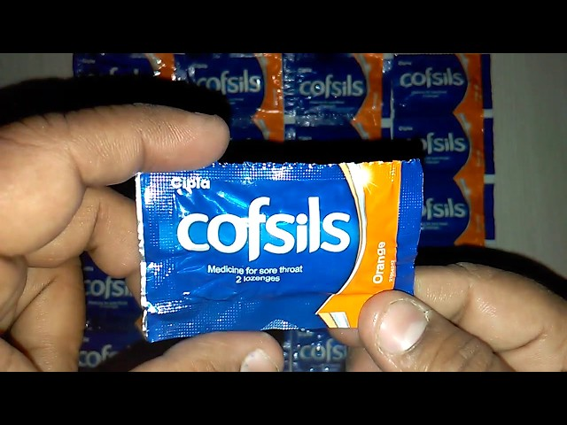 cofsils Lozenges Medicine for sore throat Review in Hindi