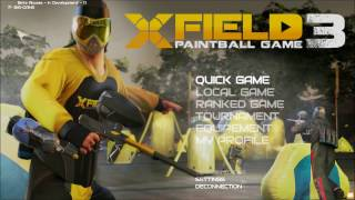 BETA XField 3 Paintball Game