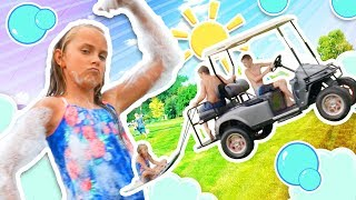 Foam Slip and Slide | Here Comes Summer! | Funpop