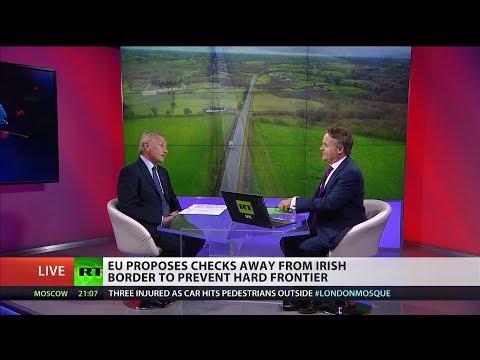 May: EU demands on Irish border are 'unacceptable'