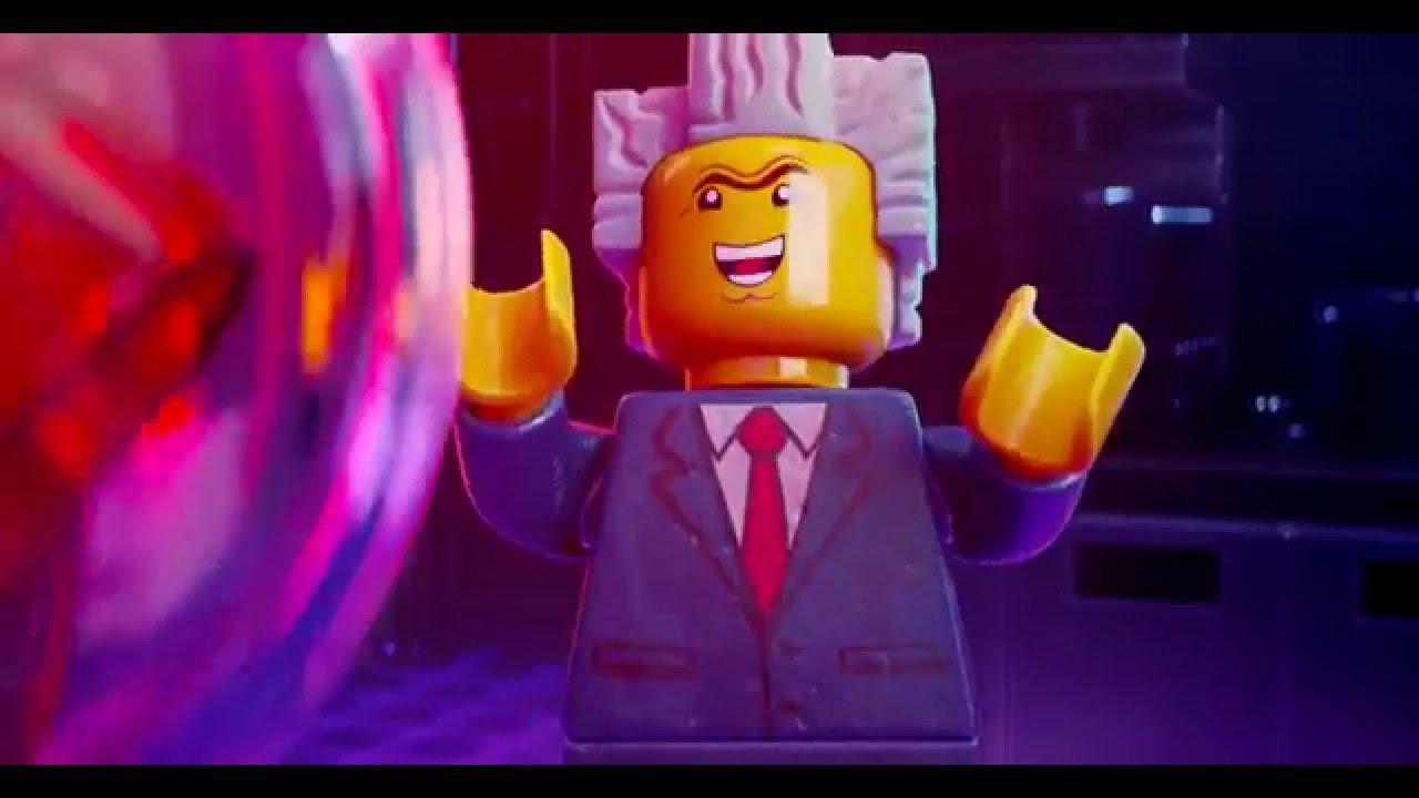 Lego Movie 4D Evil Plot Clip