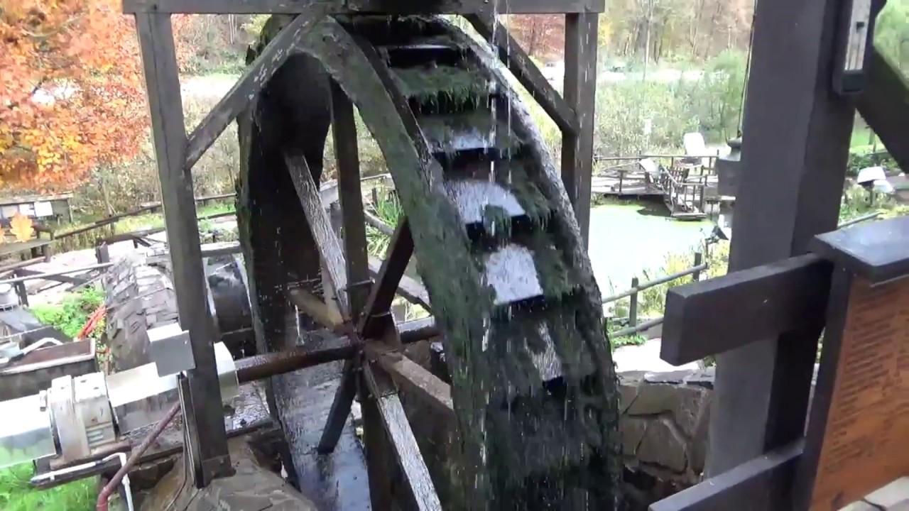 water wheel mill sawmill water mill windmill youtube