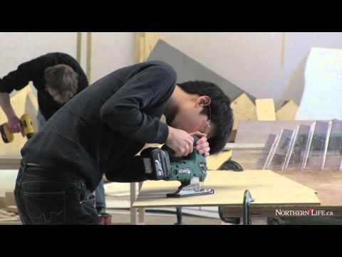 Architecture students auctioning off ice fishing huts - Sudbury News