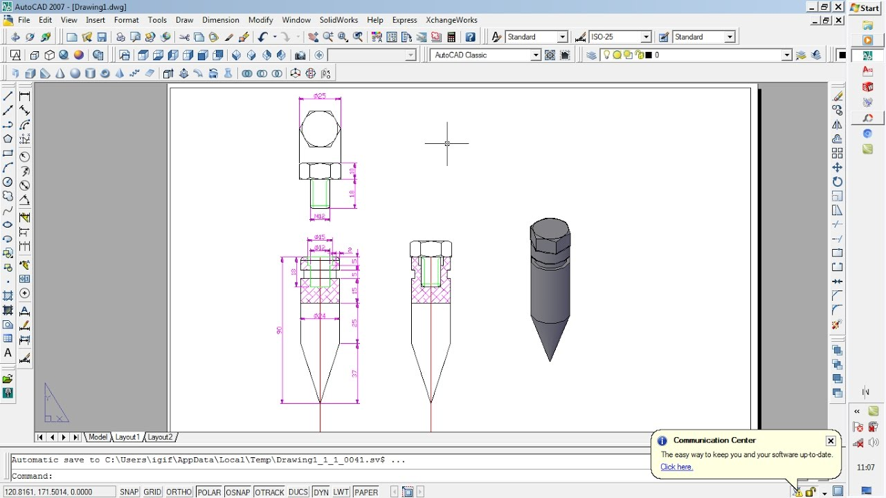 Auto cad 2007-tutorial.