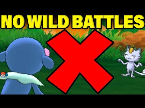 Can You BEAT Melemele Island Without ANY WILD POKEMON BATTLES? Pokemon Lets Go Locke
