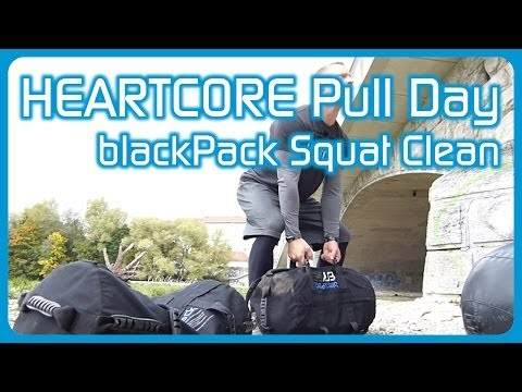 aerobis HEARTCORE Pull Day - How To Squat Clean with the blackPack