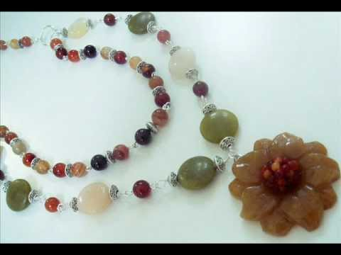 Handmade Semi-Precious Gemstone Jewelry Collection by www.beautyandthegems.artfire