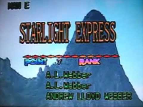 [22603] STARLIGHT EXPRESS (Andrew Lloyd Webber) ~ 금영 노래방/KumYoung 코러스 HD3000 Karaoke/Videoke