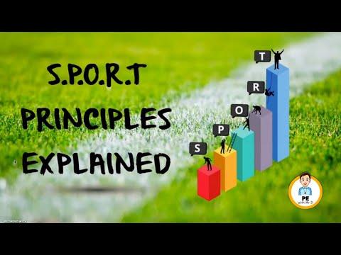 Learn the S.P.O.R.T Training Principles - Specificity, Progression, Overload, Reversibility, Tedium