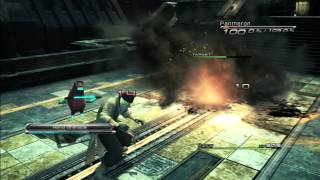 Final Fantasy XIII - Any% Tutorial - Ch2 Fight 6 (Pantheron & Zwerg Scandroid x2)