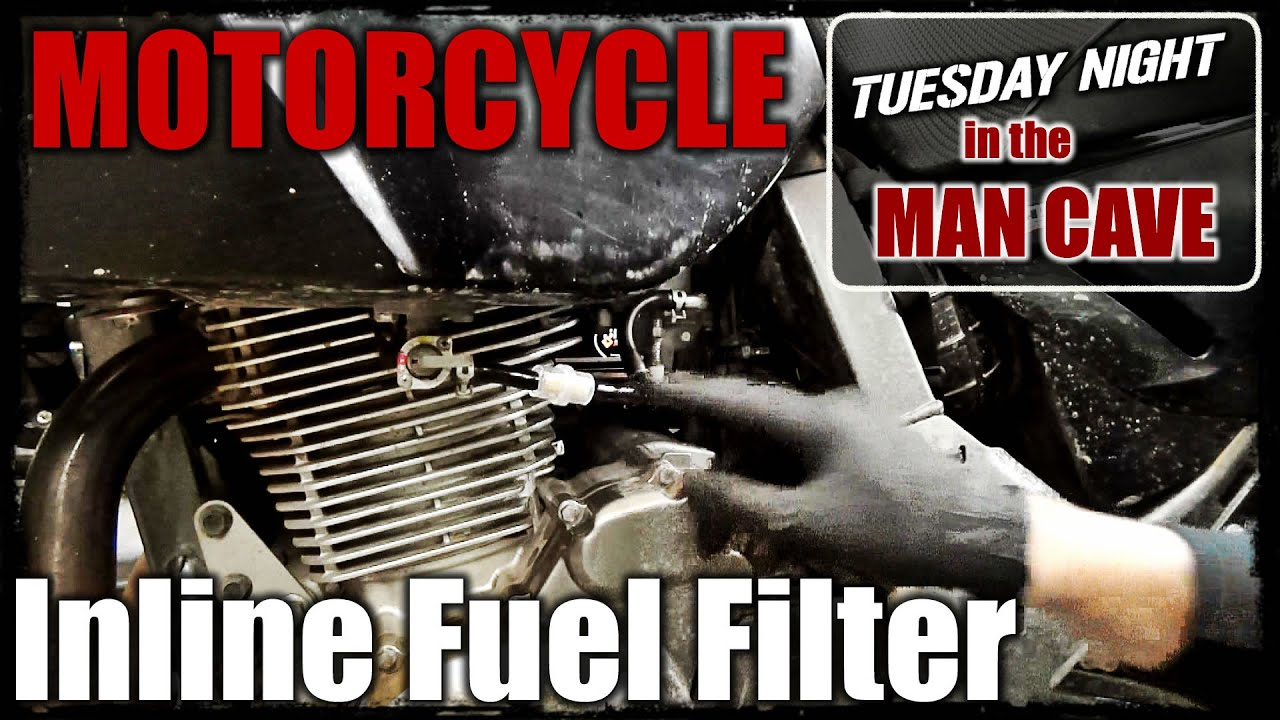 Motorcycle Inline Fuel Filter Mct Ep8 Youtube Install