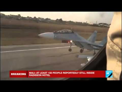 Syria: Russian airstrikes target Islamic state group-held oil production sites