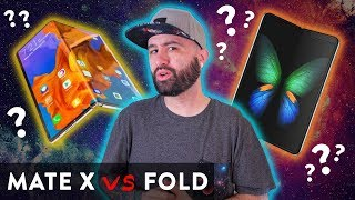 Huawei Mate X vs Samsung Galaxy Fold - Which is better? 🤔