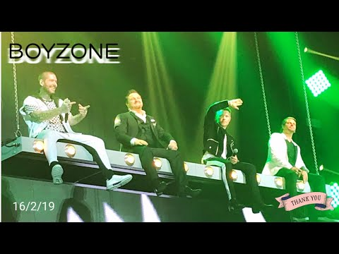 BOYZONE 'Thank You & Goodnight', The Farewell Tour. Wembley Arena 16/2/2019