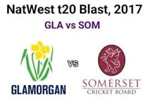 Somerset vs Glamorgan, NatWest t20, 2017  - Live Cricket Score, Commentary 13 Aguest 2017