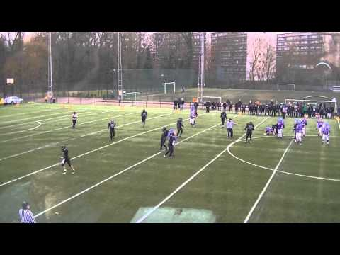 BFL American Football 2013 Week 4 Brussels Black Angels v Brussels Bulls