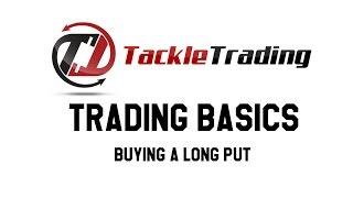 Trading Basics: Buying a Long Put