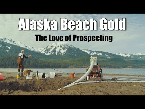 Alaska Beach Prospecting - The Love of Gold Prospecting