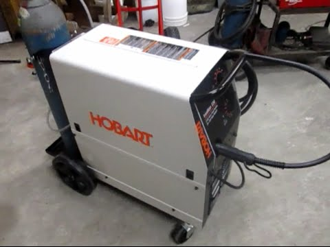 Review of the Hobart Ironman 230v Mig Welder - CromWeld com